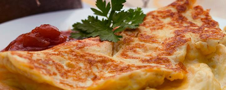 Prepara exquisitos Omelette junto a Blanik