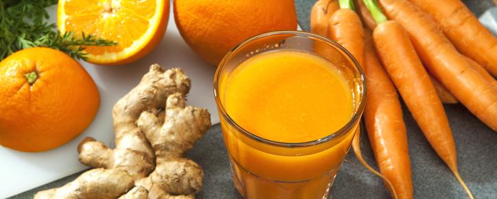Slow Juicer: Jugo de Zanahoria, Naranja y Jengibre | Blanik ...